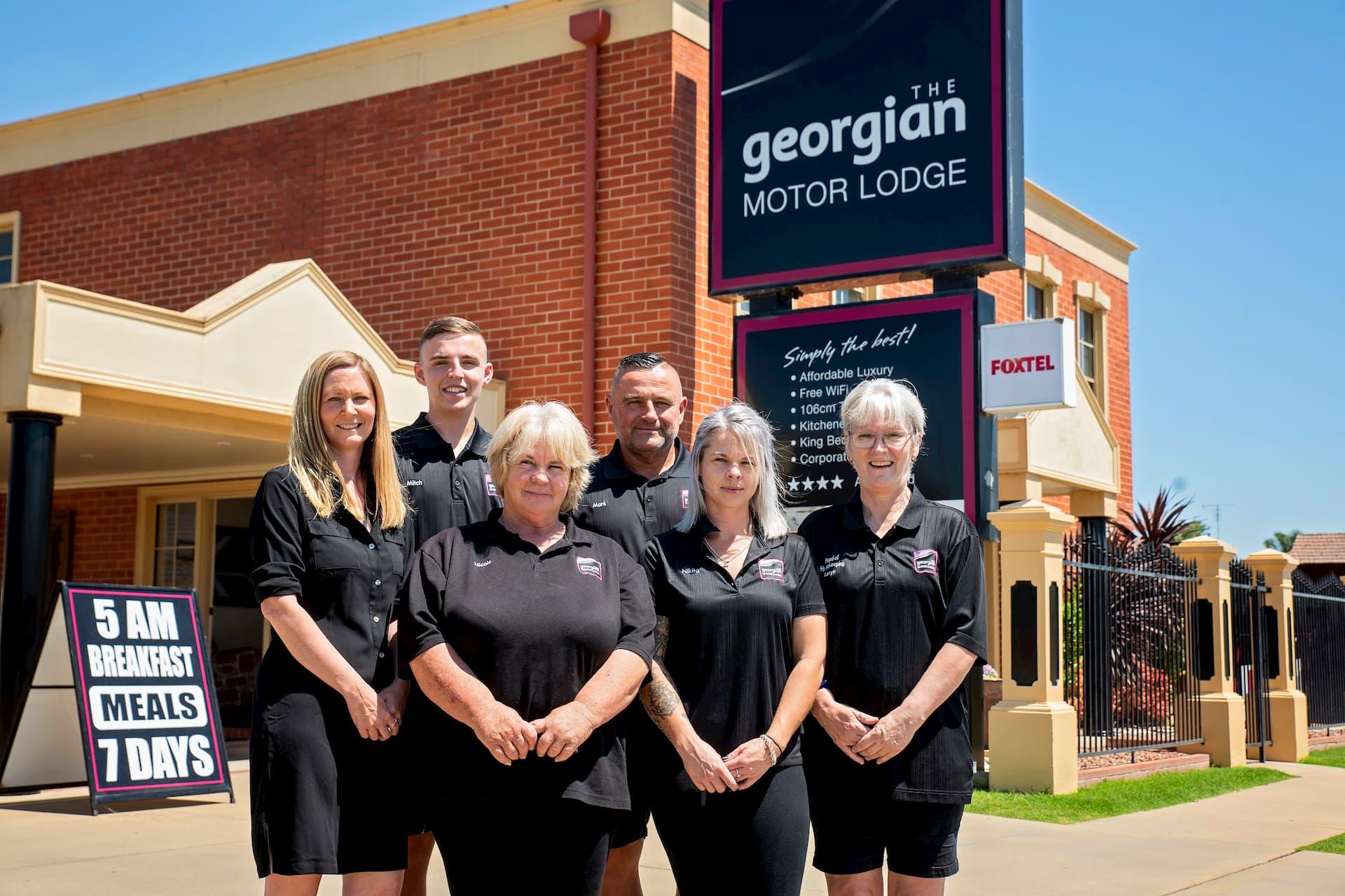 Georgian Motor Lodge Staff Photo